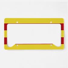 Catalunya: Catalan Flag License Plate Holder