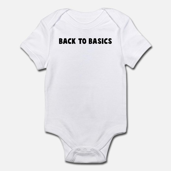Back to basics Infant Bodysuit