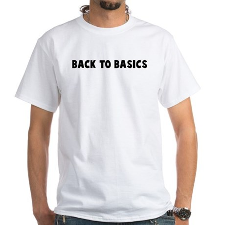 Back to basics White T-Shirt