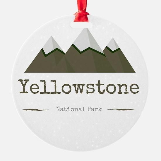 Yellowstone National Park Ornament