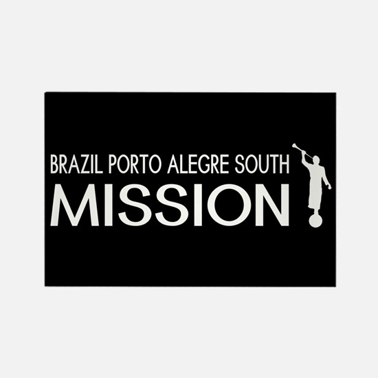 Brazil, Porto Alegre South Missio Rectangle Magnet