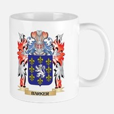 Barker Coat of Arms - Family Crest Mugs