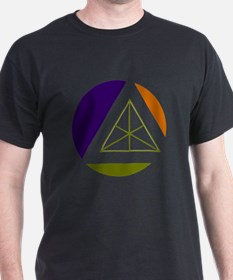 tertiary geometric colors T-Shirt