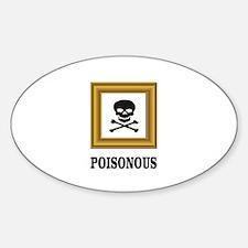 poisonous bones Decal