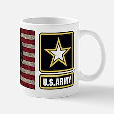 Usarmy Gold Star Flag Bv Mugs