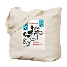 CANINE FREESTYLE Tote Bag