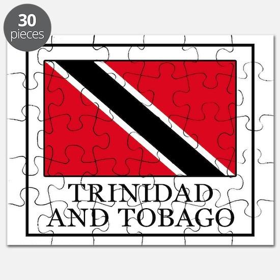 Cute Trini flag Puzzle