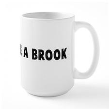 Babble like a brook Mug