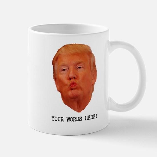 CAPTION TRUMP! Customizable President Mug