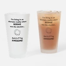 Funny Politcs Drinking Glass