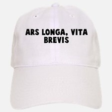 Ars longa vita brevis Baseball Baseball Cap