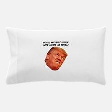 CAPTION TRUMP! Customizable President Pillow Case