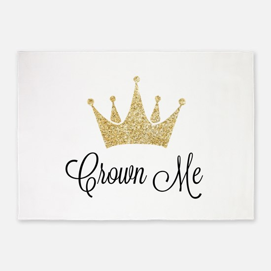 Crown Me 5'x7'Area Rug