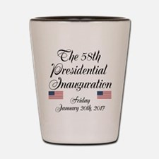The 58th Presidential Inauguration Shot Glass