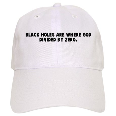Black holes are where god div Cap
