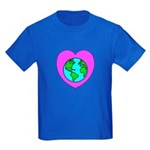 Love Our Planet Kids Dark T-Shirt