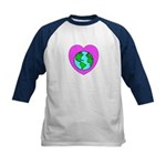 Love Our Planet Kids Baseball Jersey