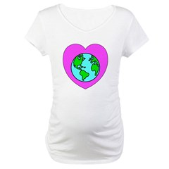 Love Our Planet Maternity T-Shirt