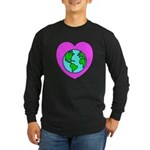 Love Our Planet Long Sleeve Dark T-Shirt