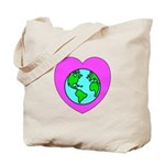 Love Our Planet Tote Bag