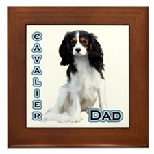 Cavalier Dad4 Framed Tile
