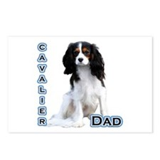 Cavalier Dad4 Postcards (Package of 8)