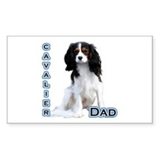 Cavalier Dad4 Rectangle Decal