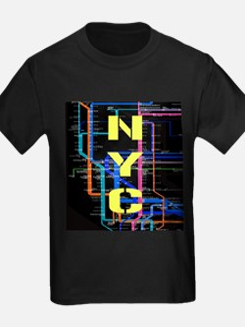NYC subway map T-Shirt