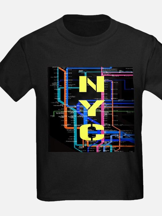 Kid New York Subway Shirt