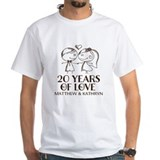 20 year anniversary Mens Classic White T-Shirts