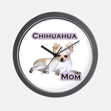 Chihuahua Mom4 Wall Clock