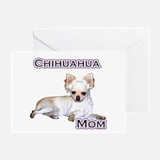 Chihuahua Mom4 Greeting Card