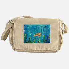 Happy Turtle Messenger Bag