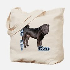 Shar Pei Dad4 Tote Bag