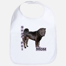 Shar Pei Mom4 Bib