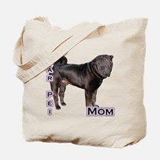 Shar Pei Mom4 Tote Bag