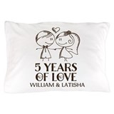 Anniversary Pillow Cases