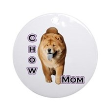 Chow Mom4 Ornament (Round)