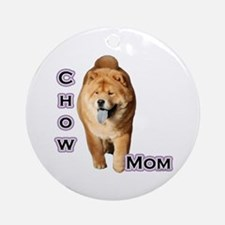 Chow Mom4 Ornament (Round)