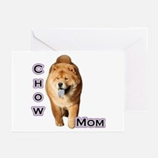 Chow Mom4 Greeting Cards (Pk of 10)