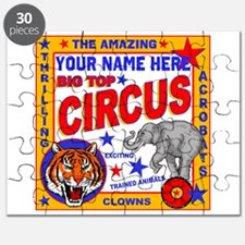 Vintage Circus Poster Puzzle