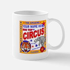 Vintage Circus Poster Mugs