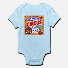 Vintage Circus Poster Body Suit