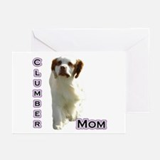 Clumber Mom4 Greeting Cards (Pk of 10)