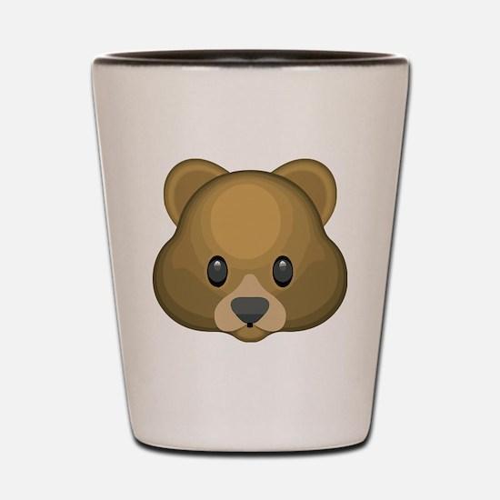 Funny Bears Shot Glass