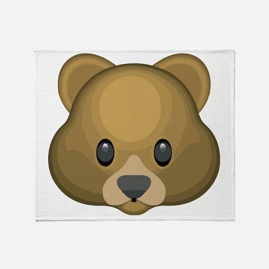 Cute Bear Throw Blanket