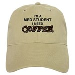 Med Student Need Coffee Cap