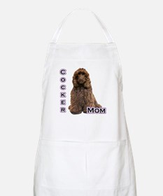 Cocker(brn) Mom4 BBQ Apron