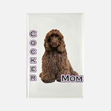 Cocker(brn) Mom4 Rectangle Magnet (10 pack)