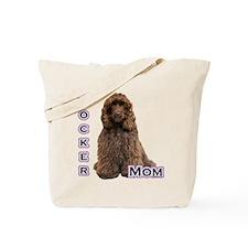 Cocker(brn) Mom4 Tote Bag